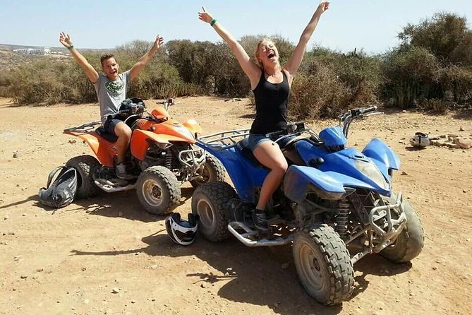 Quads Biking excursion in mini sahara & Berber Village