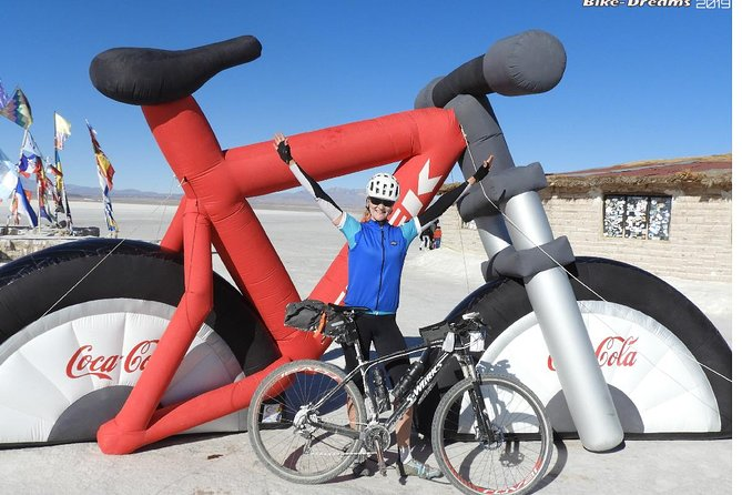 Bike rental inside the salt flats