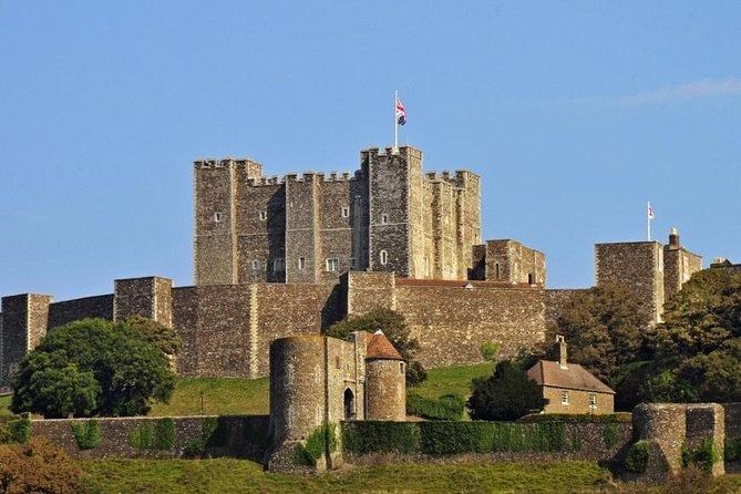 London to Dover Cruise Port Via Dover Castle Private Transfer
