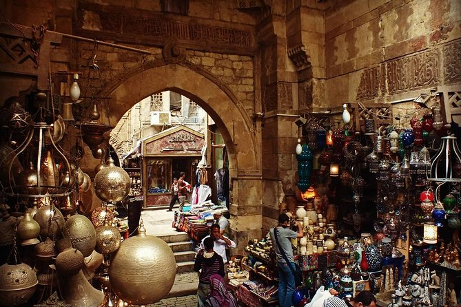 Day Tour of Egyptian Museum, Old Cairo and Khan El Khalili Bazaar in Cairo