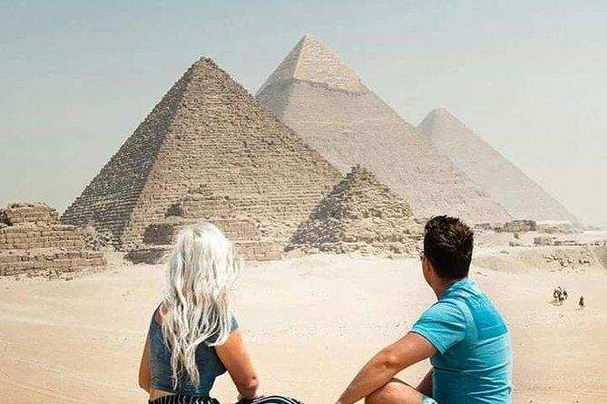Giza Pyramids & Egyptian Museum Tour in Cairo.