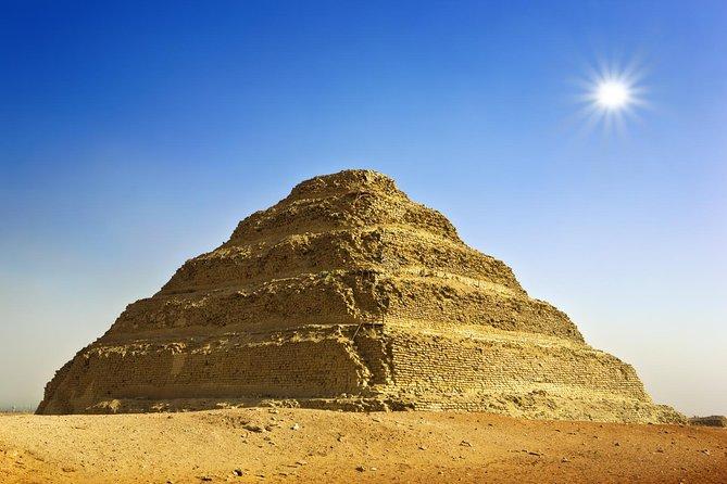 Pyramids & Memphis & Saqqara private Tour