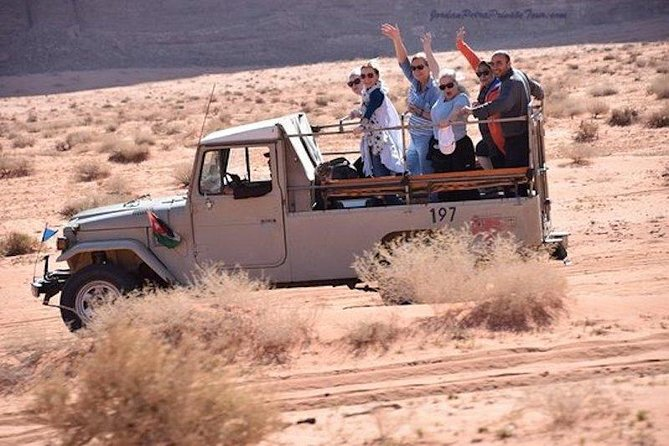 2-Day Tour: Petra, Wadi Rum, and Dead Sea photo 4
