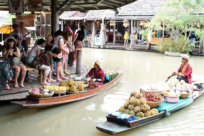 Excursão particular: mercado flutuante de Pattaya e pontos turísticos da cidade com almoço