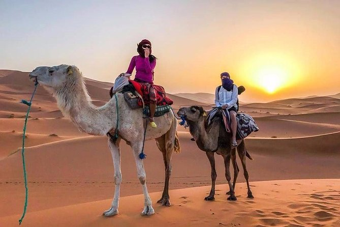 Marrakech to Fes 3 days PRIVATE Desert tour to the big Sahara (VIP TOUR)