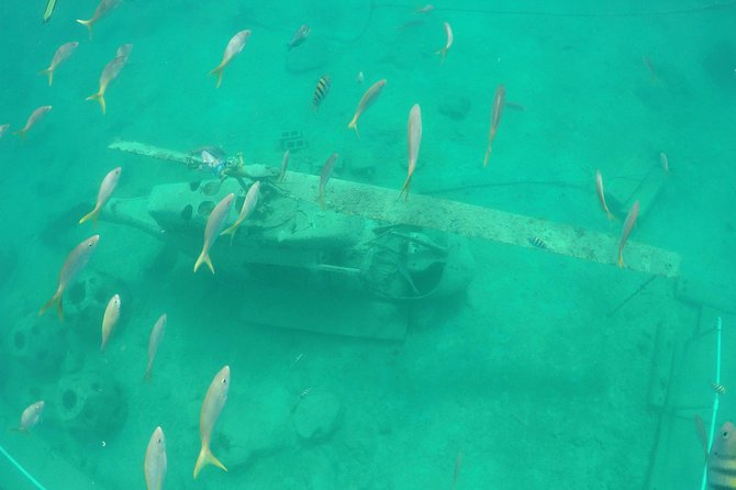 Wreck at the underwater park @ Little Bay