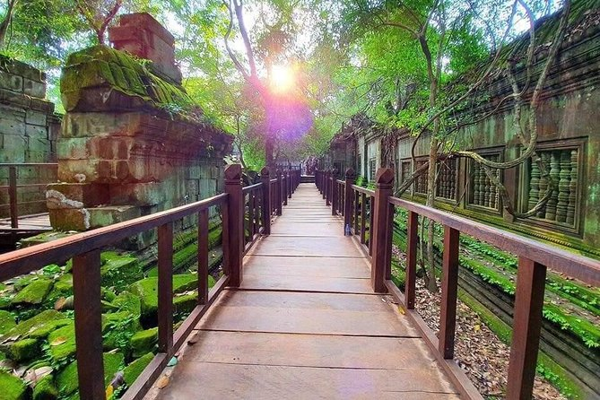 VIP Adventure to Phnom Kulen Waterfall & Beng Mealea temple
