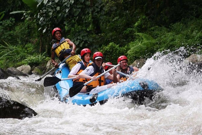 Ubud White Water Rafting and 2 Hours Spa Packages