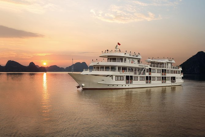 Athena Cruise-Overnight Luxury 5 Star Cruises in Ha Long Bay-Bai Tu Long Bay