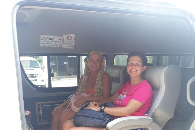 Private airport transfer to Phuket area by VAN