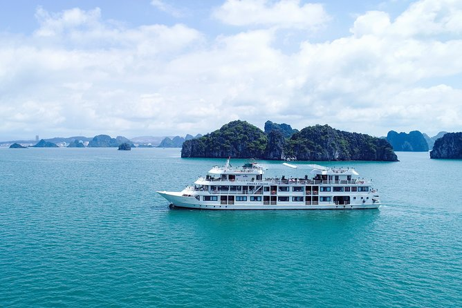 Athena Cruise- 5 Star Luxury Cruise Vessel in Ha Long Bay – Bai Tu Long Bay