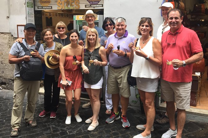 Tasty Roman Lunch Food Tour around the Farmers Market, Pantheon & Trevi Fountain