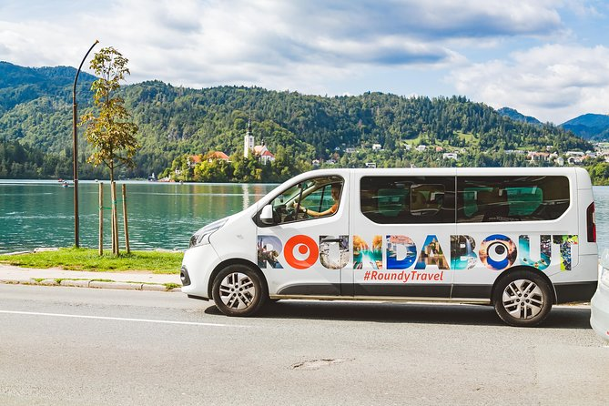 Bled Lake with island and castle - small group - day tour from Ljubljana