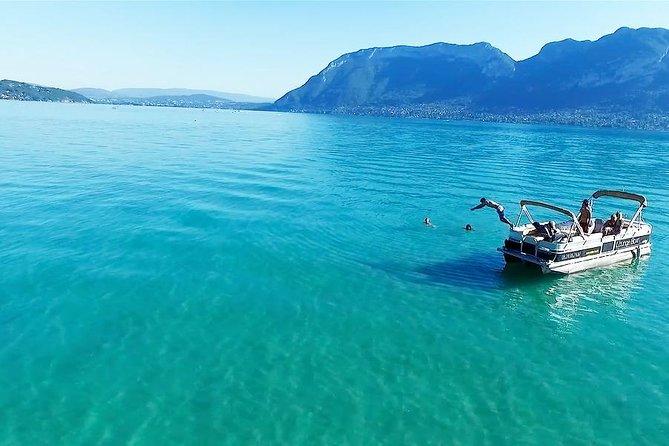 Annecy Lake Safari 2h - Boat apéritif