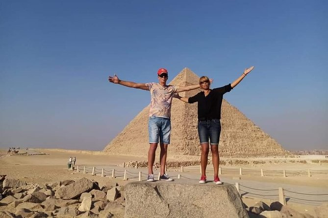 Cairo By Plane Full Day (Sphinx & Pyramids & Egyptian Museum and Lunch )