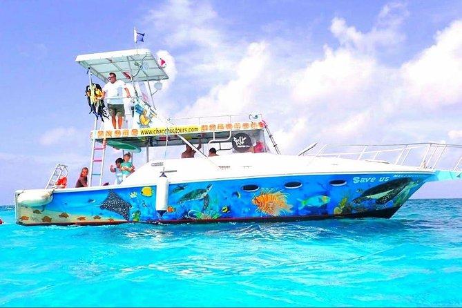 Cozumel Three Reef Snorkel by Glass Bottom Boat