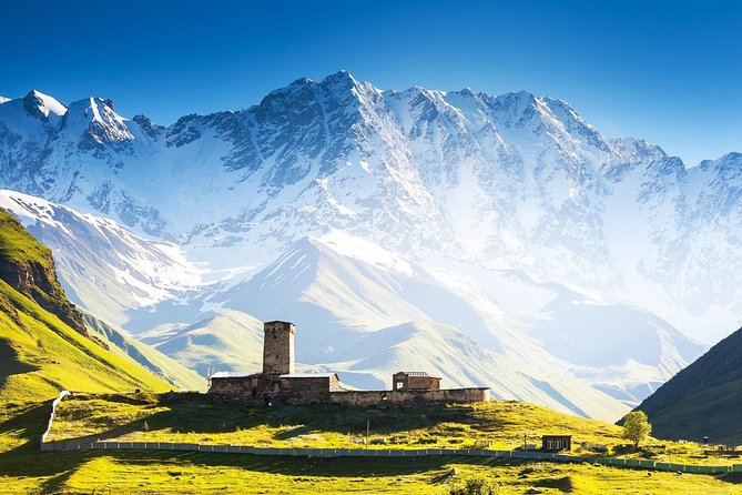 2day tour-Fascinating Svaneti-Mestia-Ushguli-Shkhara- from Batumi 4WD offroad