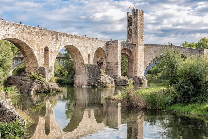 Besalú & 4 Medieval Towns Tour from Barcelona with Hotel Pick-Up in Small Group