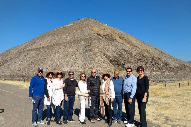 Pyramids of Teotihuacan,Guadalupe Shrine,Tlatelolco 3cultures Square Shared.