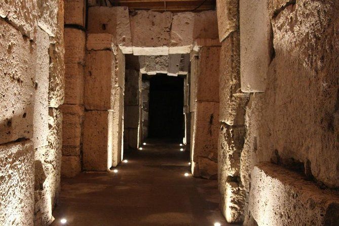 Colosseum Underground Tour with Roman Forum in a Small Group