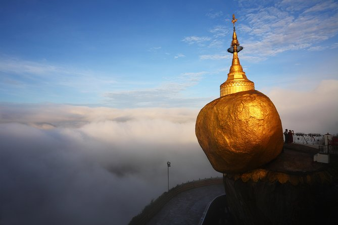 From Yangon: Golden Rock Day Return Trip