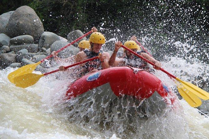 Naranjo River Rafting Trip from Manuel Antonio