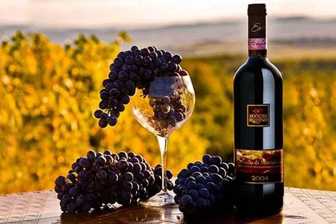 Siena&Montalcino with brunello wine tasting private full-day from Rome
