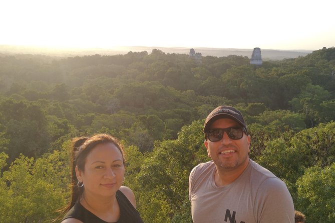 Tikal Sunrise Small Group Tour from hotels in Tikal