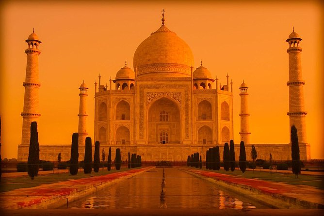 Sunrise and Sunset of Taj Mahal Full Day Tour from Delhi