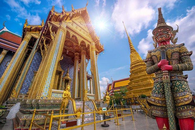 Bangkok Landmark Tour with Grand Palace, Emerald Buddha and Temple of Dawn