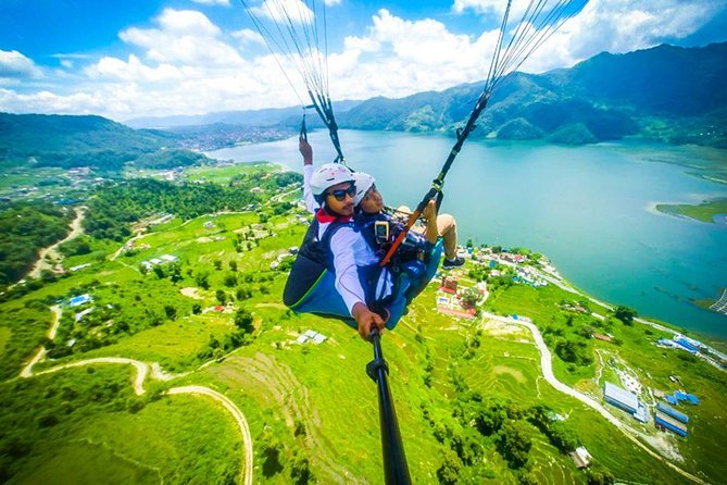 30 min Paragliding Tandem Flight from Pokhara
