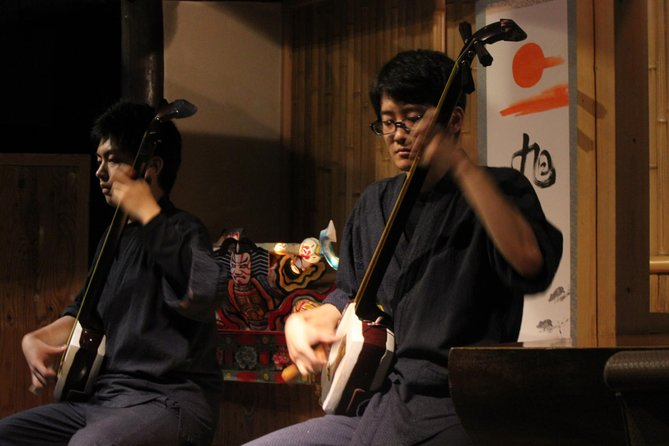 History Tour and Traditional Music Live Performance over Lunch in Asakusa
