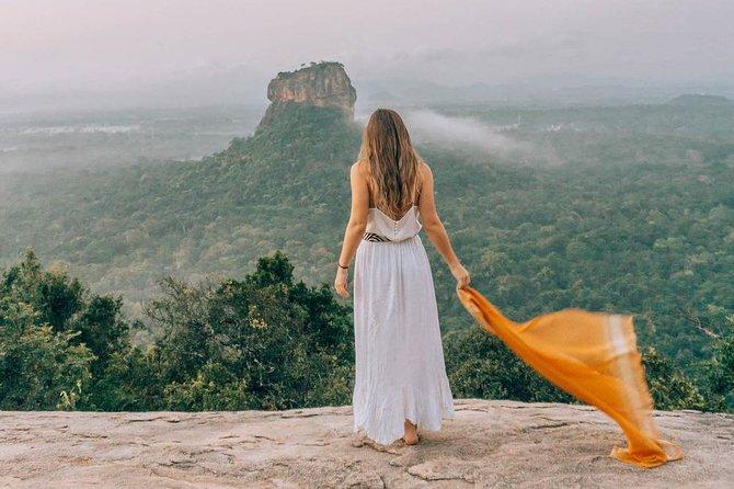 Golden beach Negombo to lion rock sigiriya hiking