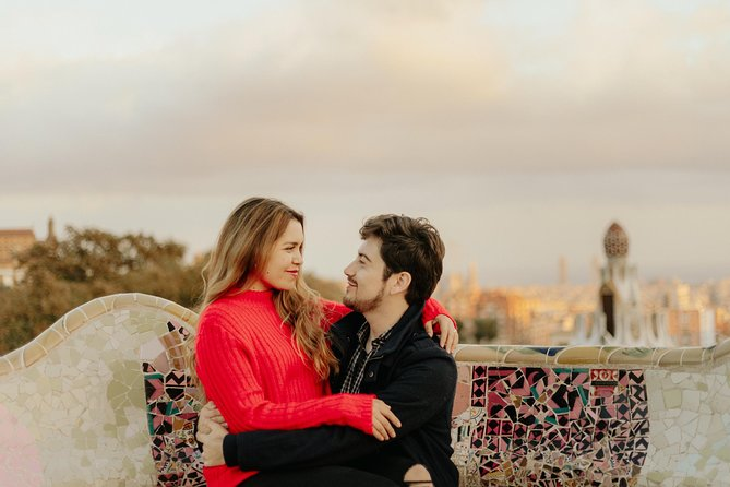 Romantic Photoshoot in Barcelona