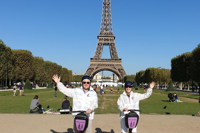 Paris Segway Tour with Eiffel Tower Ticket and Summit Access