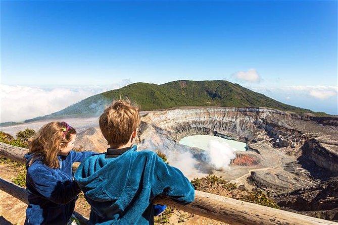 Poas Volcano National Park Half day tour from San Jose