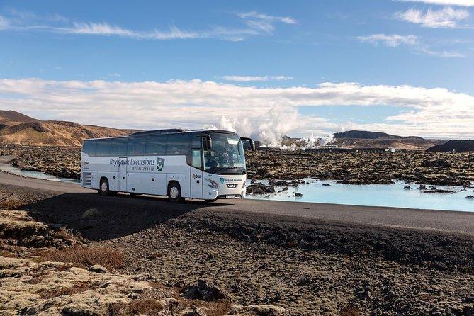 Blue Lagoon Return Bus Transfer from Keflavik International Airport