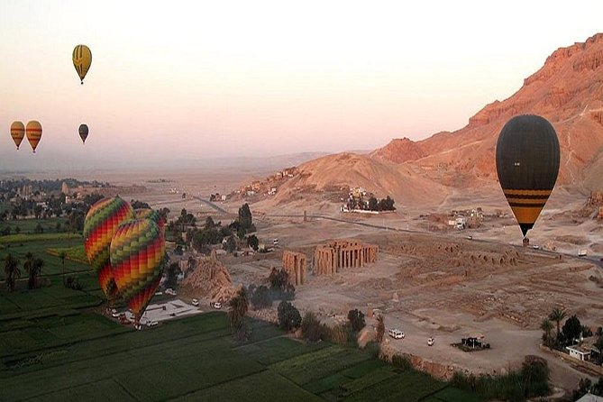 From Hurghada, two days to luxor ( Ballon trip , west and east bank)