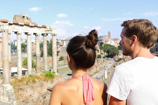 Rome Full Day Auto Tour (3 people max - 8 hours time)