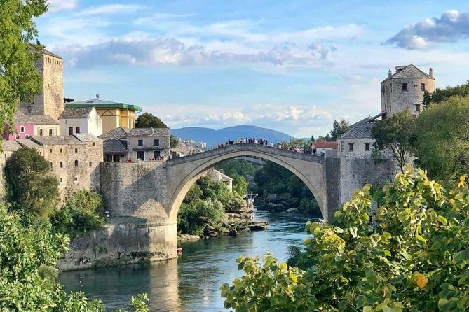 Mostar and Kravice Waterfalls Driver Guide Tour from Split
