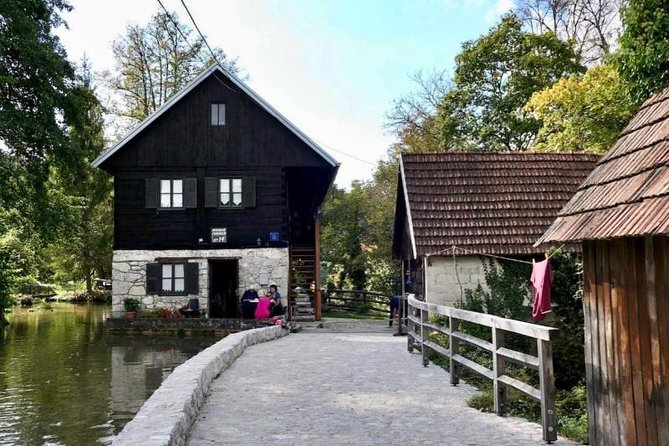 Plitvice Lakes National Park and Rastoke village Driver Guide Tour from Zagreb