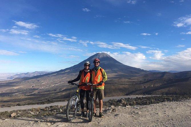 Volcano biking / Tour from Arequipa