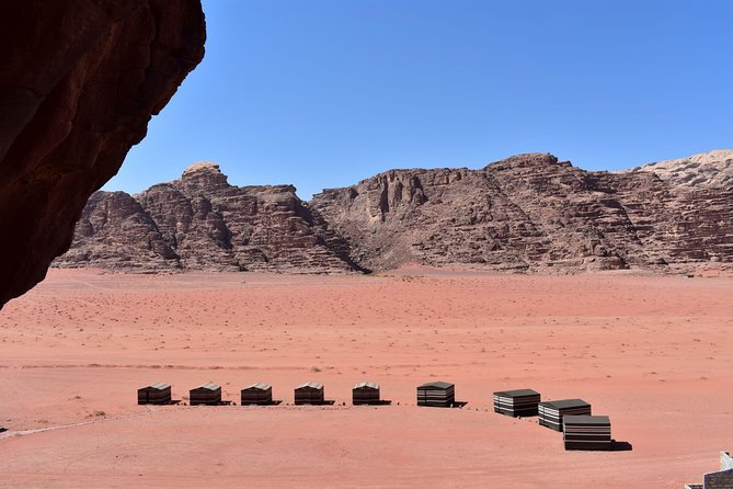 Wadi Rum Camel Ride and Overnight stay in the desert