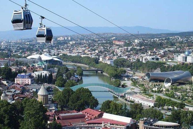 ツ ✌ Tbilisi Walking Tour - City Sightseeings! Cable Car, Wine Tasting