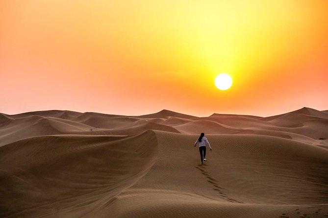 Liwa Overnight Desert Safari with Private Tent, Hot BBQ Dinner & Breakfast