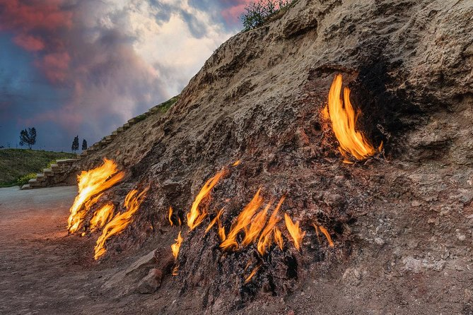 Azerbaijan: the land of burning flames