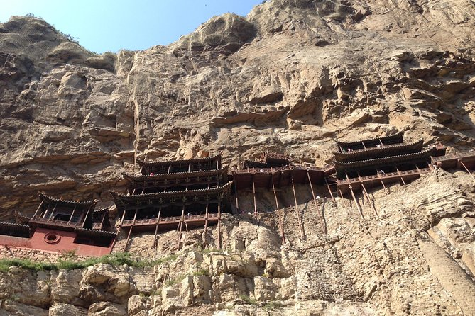 Private Yungang Grottoes & Hengshan Hanging Temple Tour From Datong