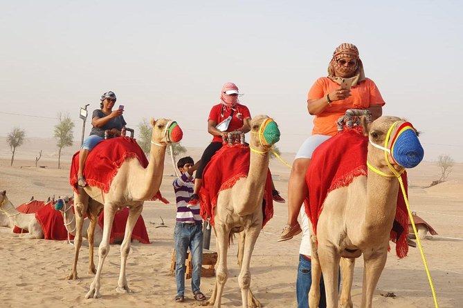 Full-Day Desert Safari in Dubai with Camel Ride and Dinner