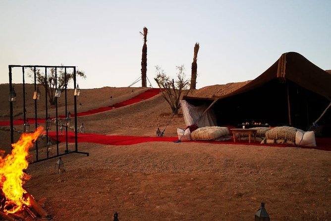 Magical private dinner in Agafay desert photo 2