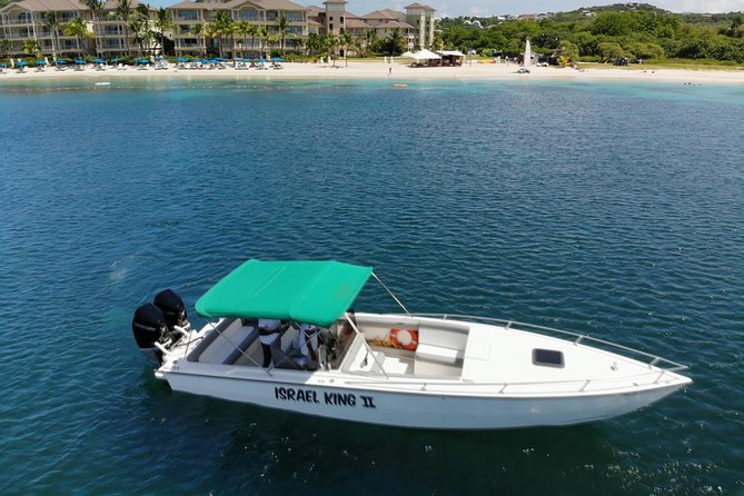 Private Half Day Charter: St Lucia Boat Tour to Soufriere